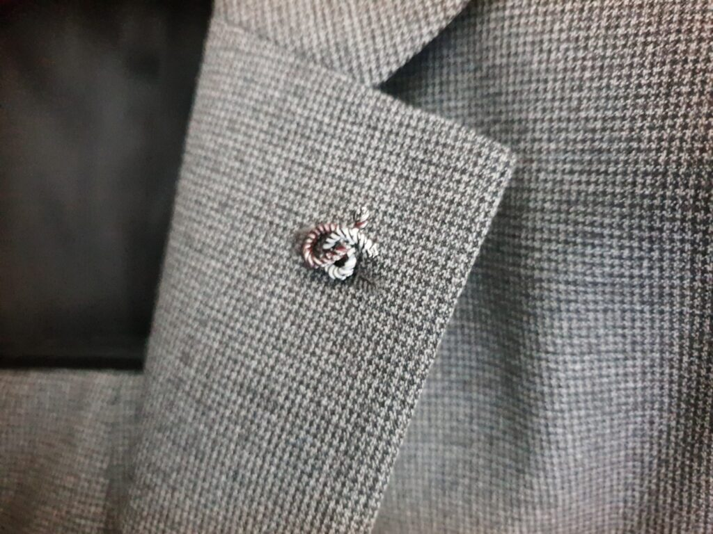 新しいスーツの購入