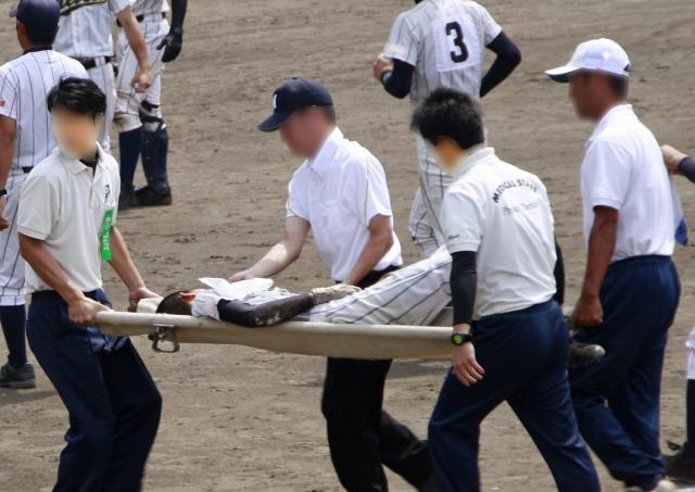 練習中に起こった事故・怪我の真因