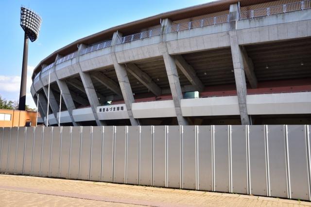 東京オリンピックにて野球・ソフトボールの試合会場として使用される福島あづま球場